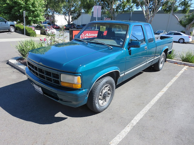 1993 Dodge Dakota showing off a new paint job with Almost Everything's economical single stage Enamel paint.