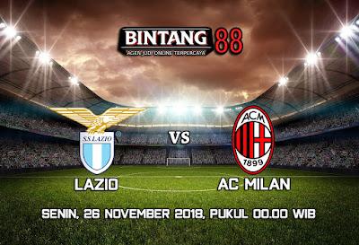 Prediksi Lazio Vs AC Milan 26 November 2018