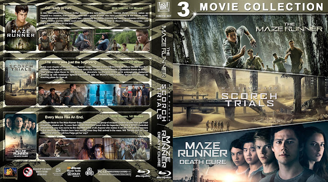 The Maze Runner Triple Feature Bluray Cover