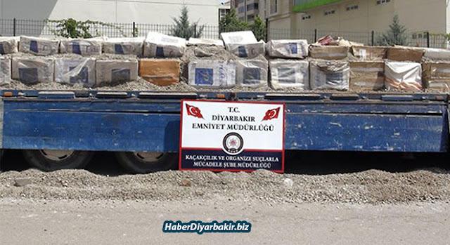 DİYARBAKIR-Diyarbakır'da 9-14 Haziran'da yapılan 5 ayrı operasyonda piyasa değeri yaklaşık 2 milyon 367 bin 925 TL kaçak sigara ele geçirildi. Yapılan operasyonlarda 3 araca el konuldu.