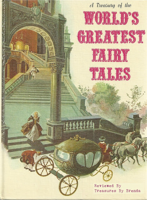A Treasury of the World's Greatest Fairy Tales Vintage Book