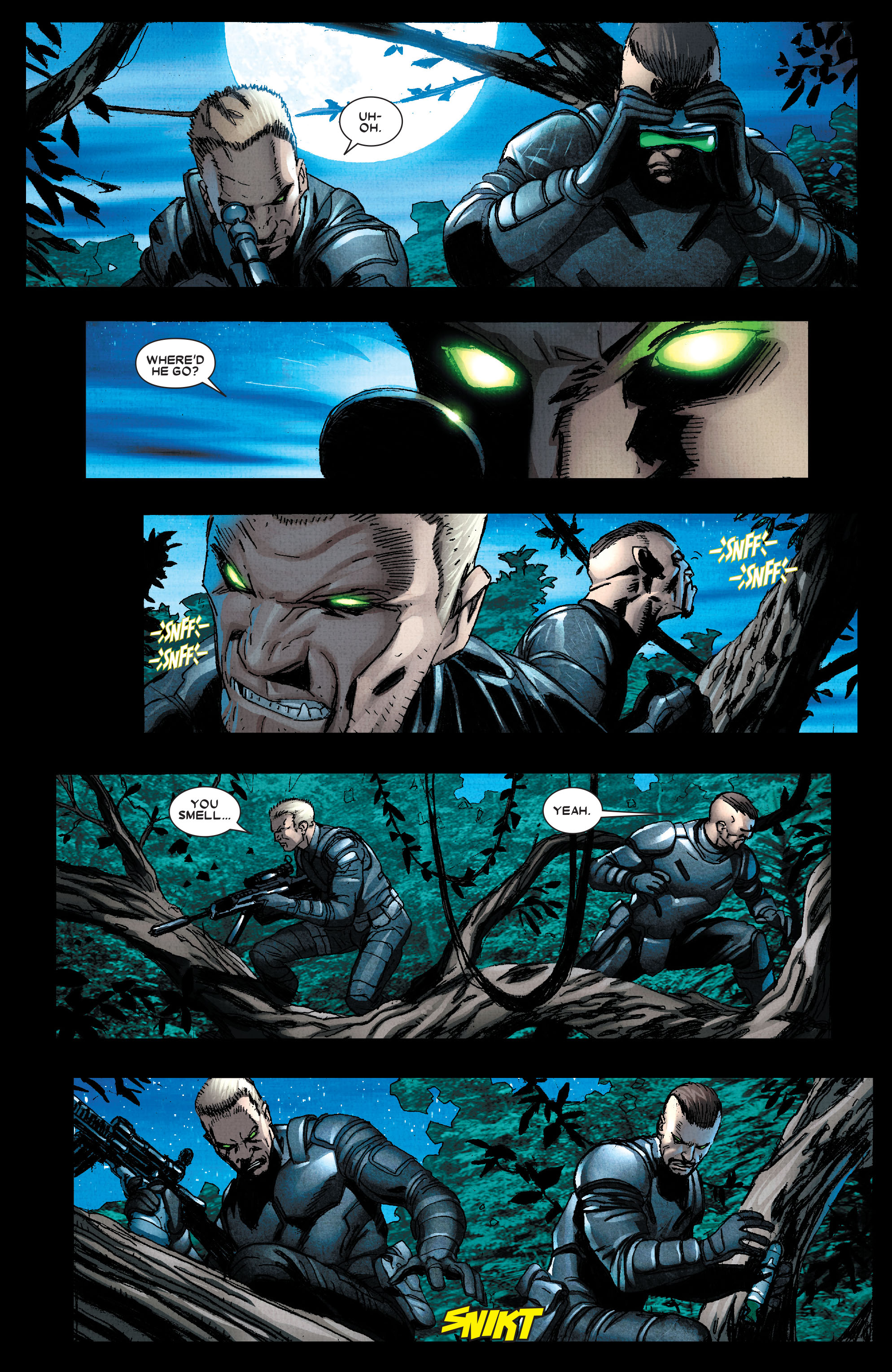 Read online Wolverine: Weapon X comic -  Issue #2 - 11
