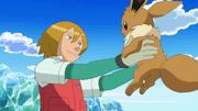 El equipo Eevee y la brigada de rescate Pokémon