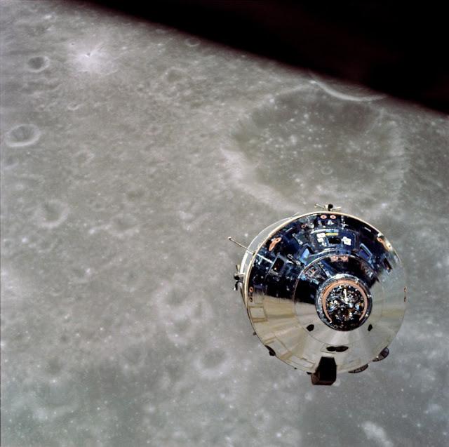 Cintas clasificadas de la Nasa revelan, música inexplicable en la luna