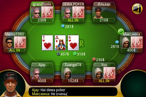 правила игры в русский покер в казино