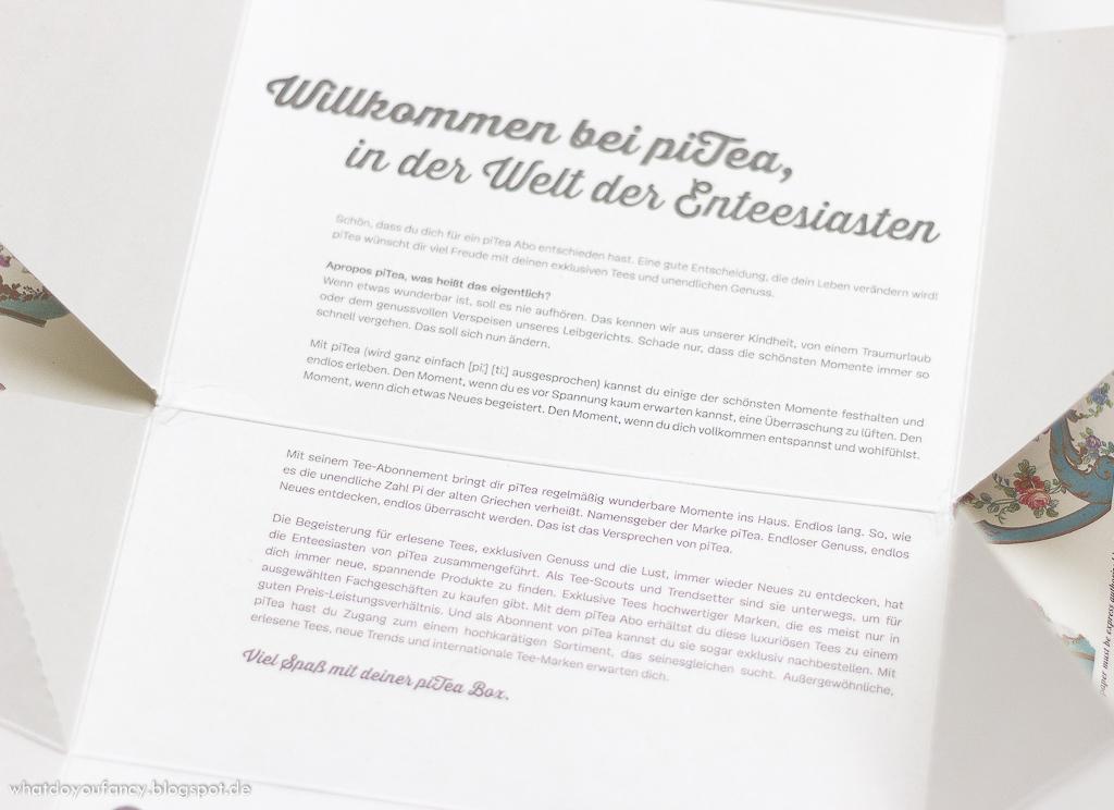 piTea-Box - Die Genießerbox für Enteesiasten