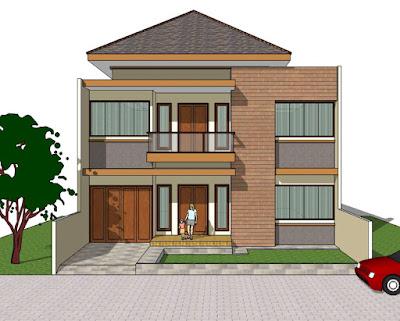 desain rumah 10x18-001