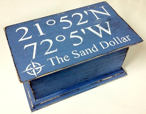 Nautical Wood Boxes | Personalized Gifts