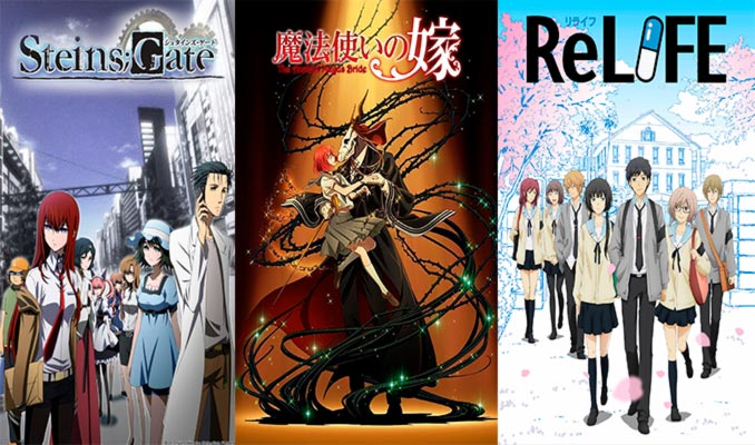 Licencias anime Selecta Vision 2019: Steins;Gate, The Ancient Magus' Bride y ReLIFE