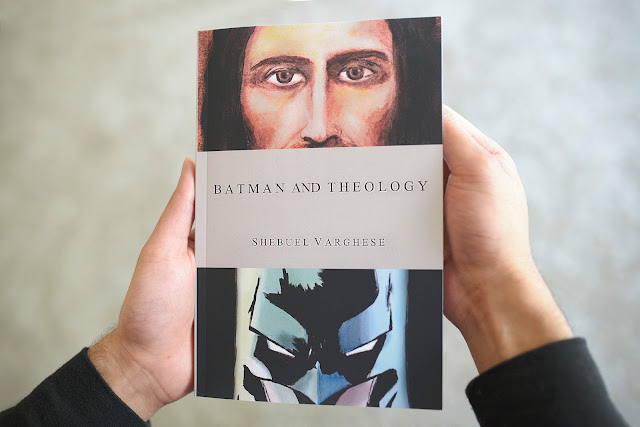http://www.amazon.com/Batman-Theology-Shebuel-Varghese/dp/0692603611/ref=sr_1_1?ie=UTF8&qid=1461110463&sr=8-1&keywords=Batman+and+Theology
