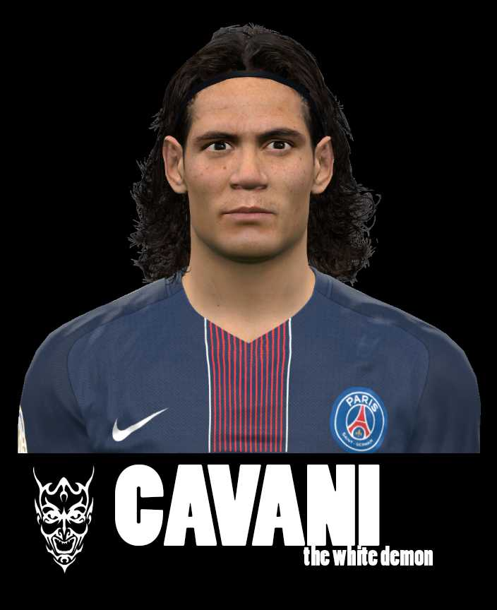 Ultigamerz Pes 2010 Pes 2011 Face: Ultigamerz: PES 2017 Edinson Cavani (PSG) Face