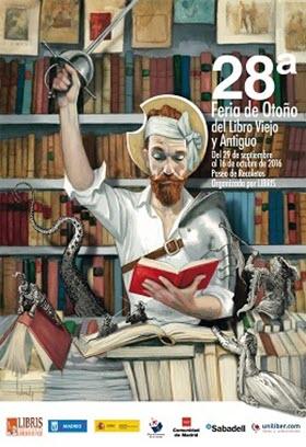 28.ª Feria de Otoño del Libro Viejo y Antiguo de Madrid, Paseo de Recoletos