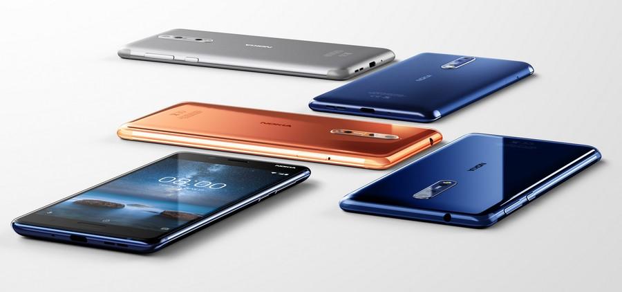 رسمياً تم الإعلان عن هاتف نوكيا الجديد Nokia 8 بمواصفات جيده