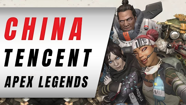 Apex Legends In CHINA, Tencent Publishing?