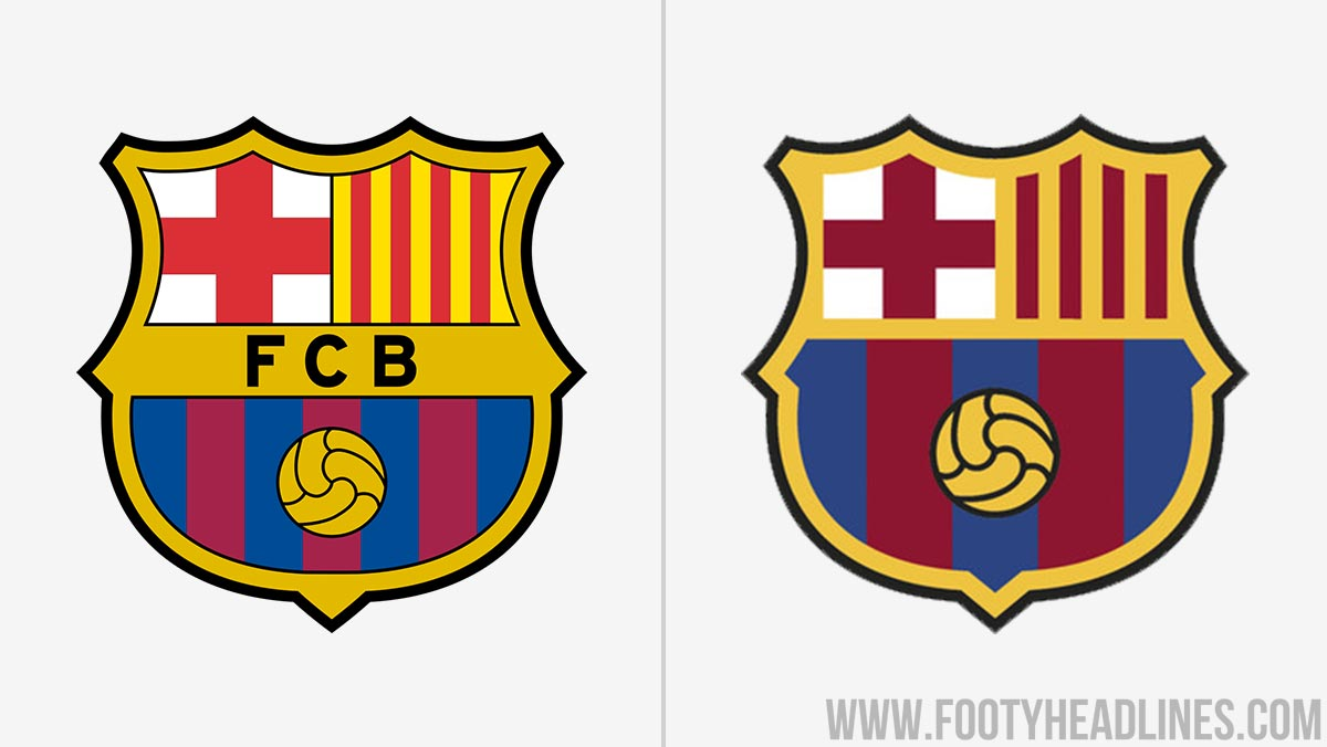 New FC Barcelona Logo Revealed - Footy Headlines