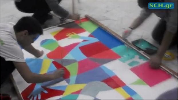 """Χτίζοντας ένα πολύχρωμο σχολείο"""": Μια ταινία του 3ου ΓΕΛ Καστοριάς (βίντεο)"""