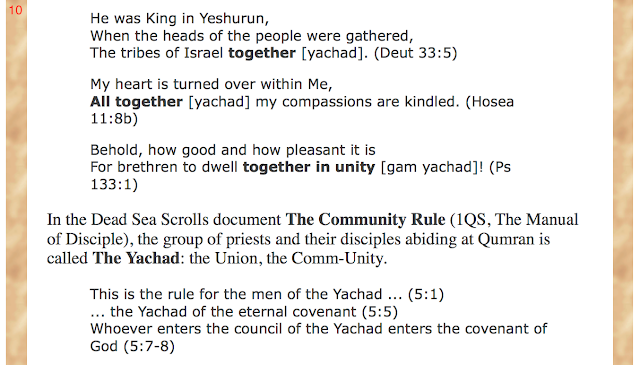 "Paul Sumner. ""Echad"" in the Shema. www.hebrew-streams.org/works/hebrew/echad.html Mark 12:29."