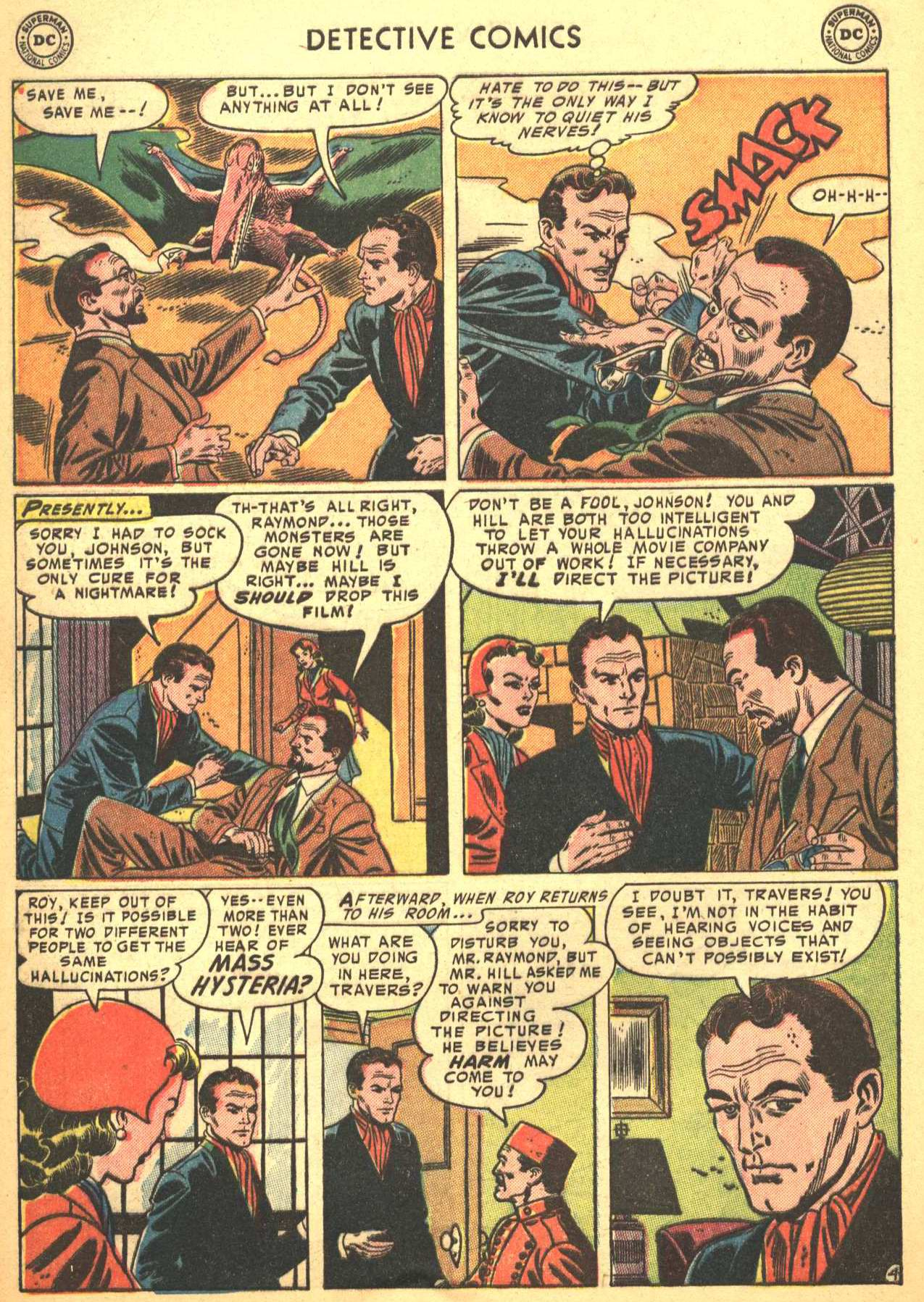 Read online Detective Comics (1937) comic -  Issue #206 - 35