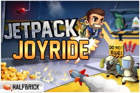 Halbrick's Jetpack Joyride hits 350k downloads, new update