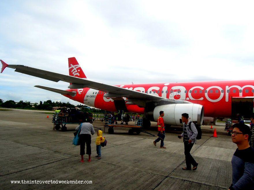 Arrival at Tagbilaran City Airport in Bohol