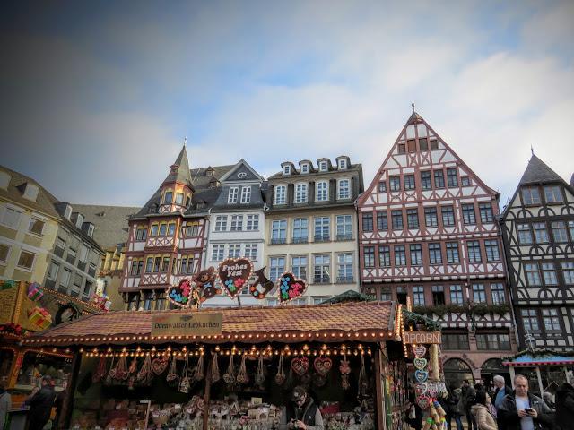 Old Town Frankfurt Christmas Market