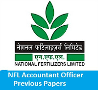 NFL Accountant Officer Previous Papers