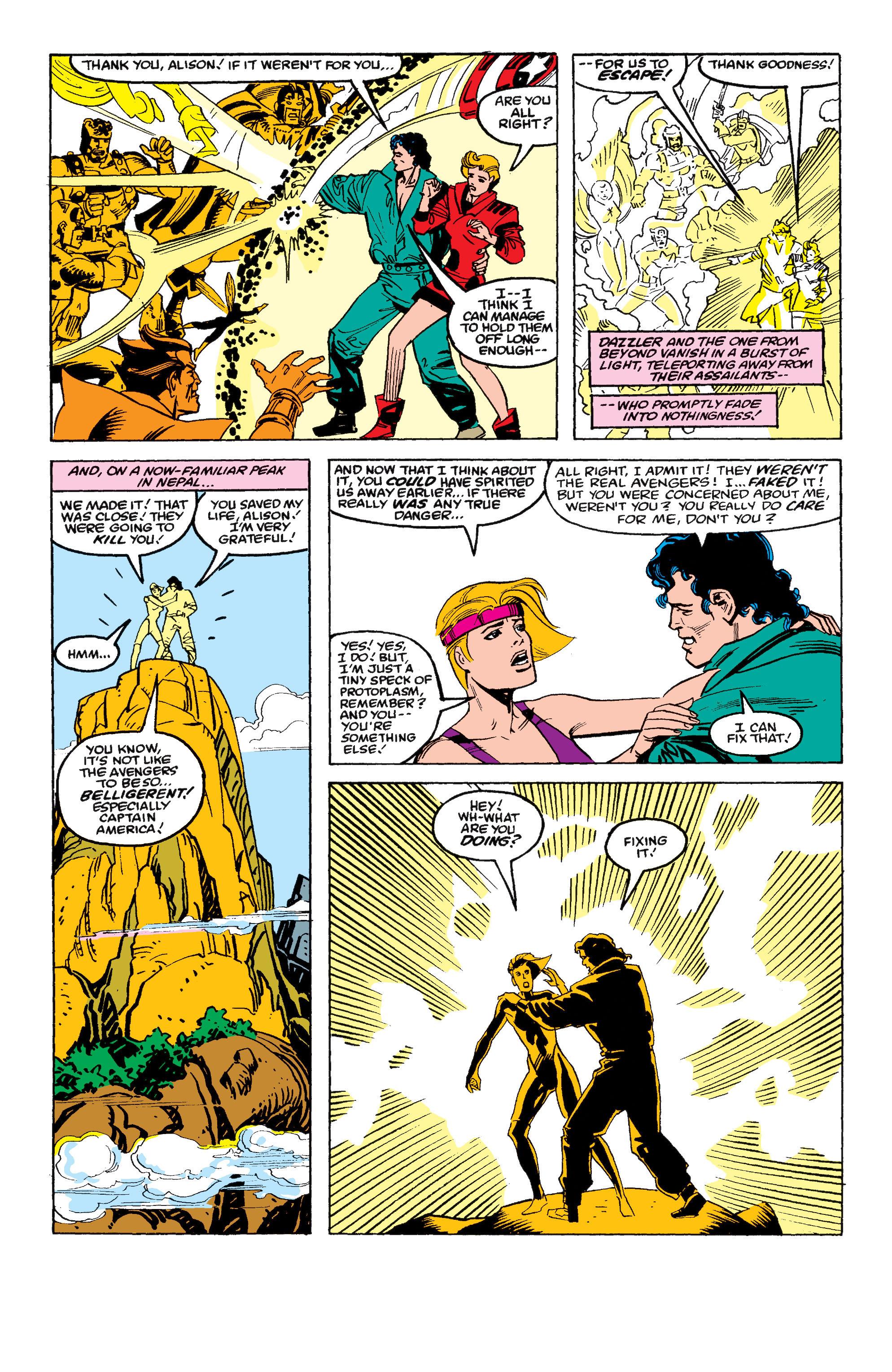 Read online Secret Wars II comic -  Issue #4 - 23