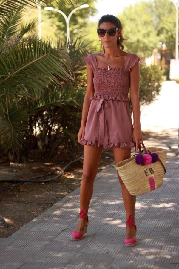 conjunto, top y short, moda low cost, capazo personalizado