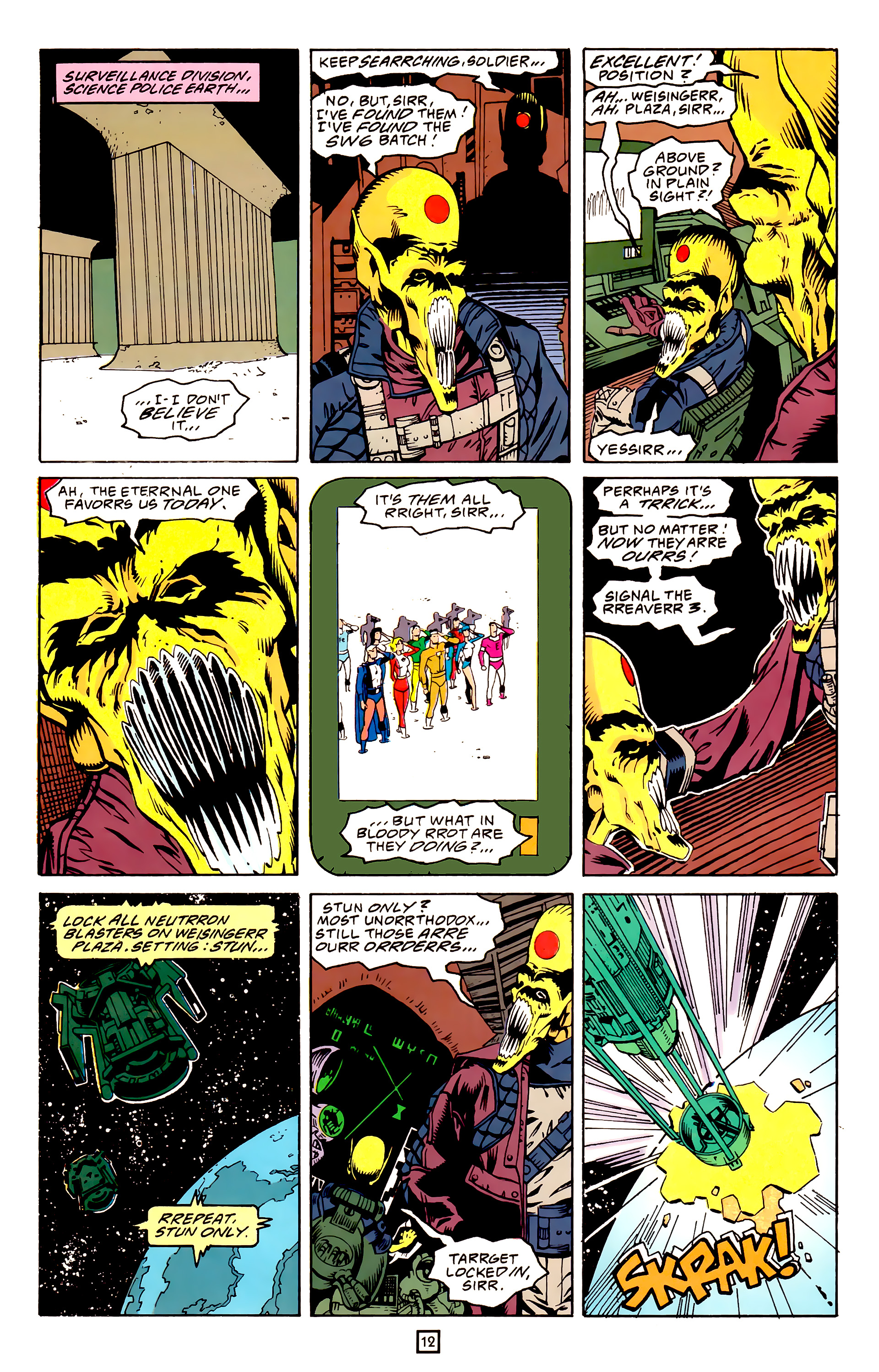 Legion of Super-Heroes (1989) 25 Page 12