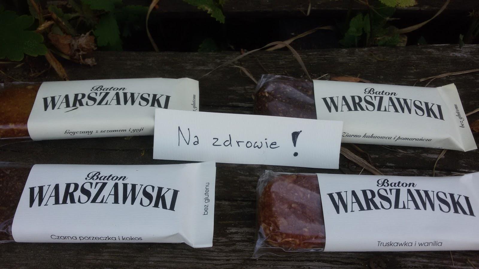 Naturalne batony | Baton Warszawski