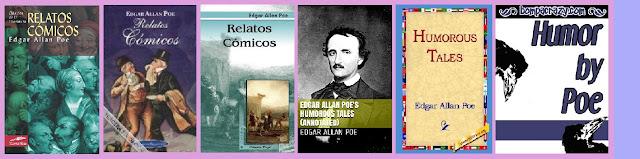 portadas del libro Relatos cómicos de Poe