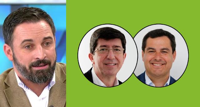 PP y C's negocian en Andalucía sin Vox y Abascal amenaza con nuevas elecciones