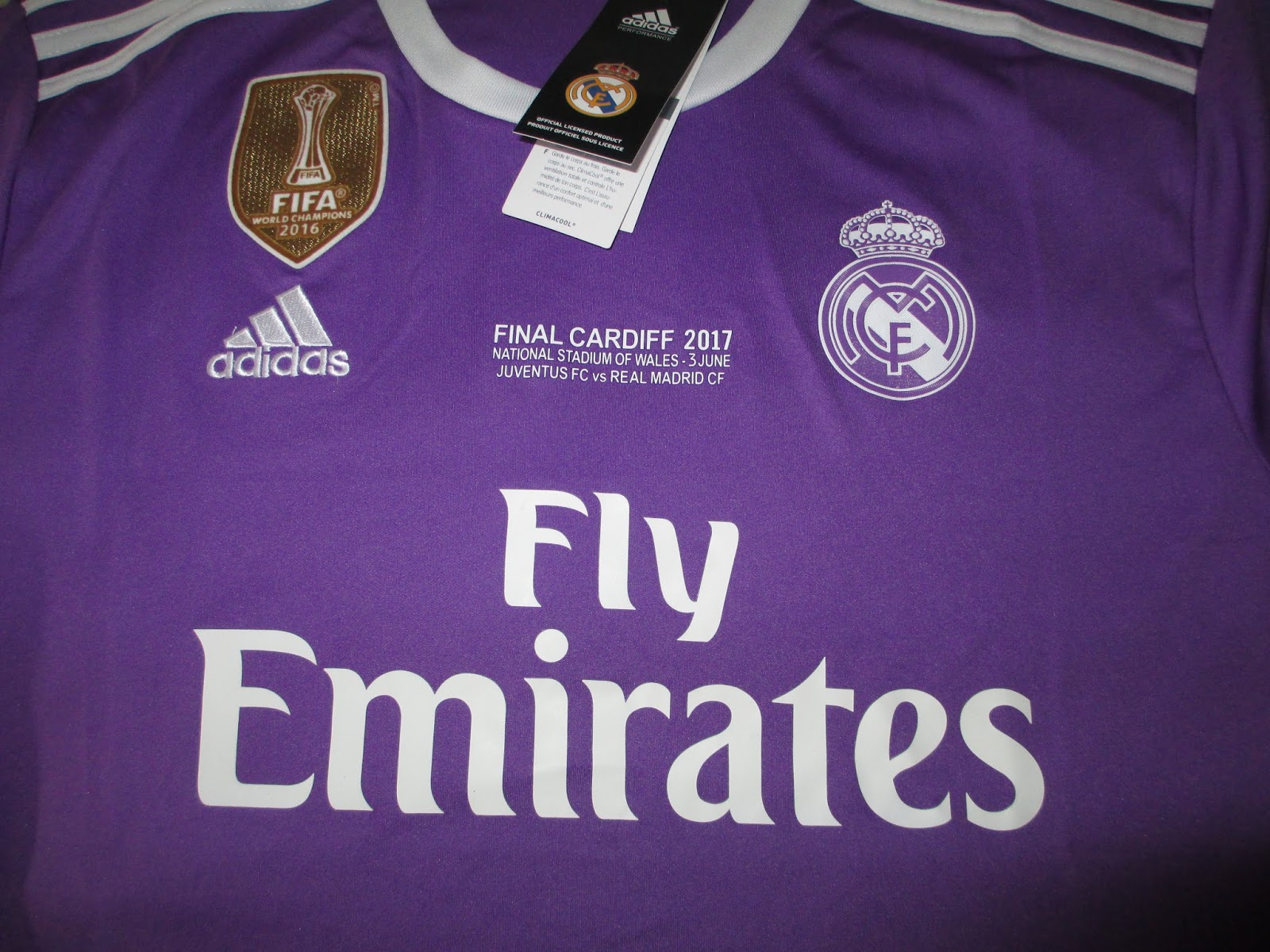 Coleccionismo AMPS  Real Madrid camiseta final Champions League 2017 ... 5a5bd08b42d97