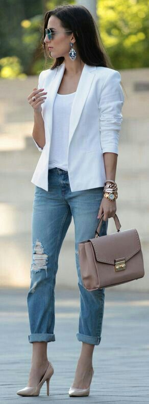 summer office style outfit idea