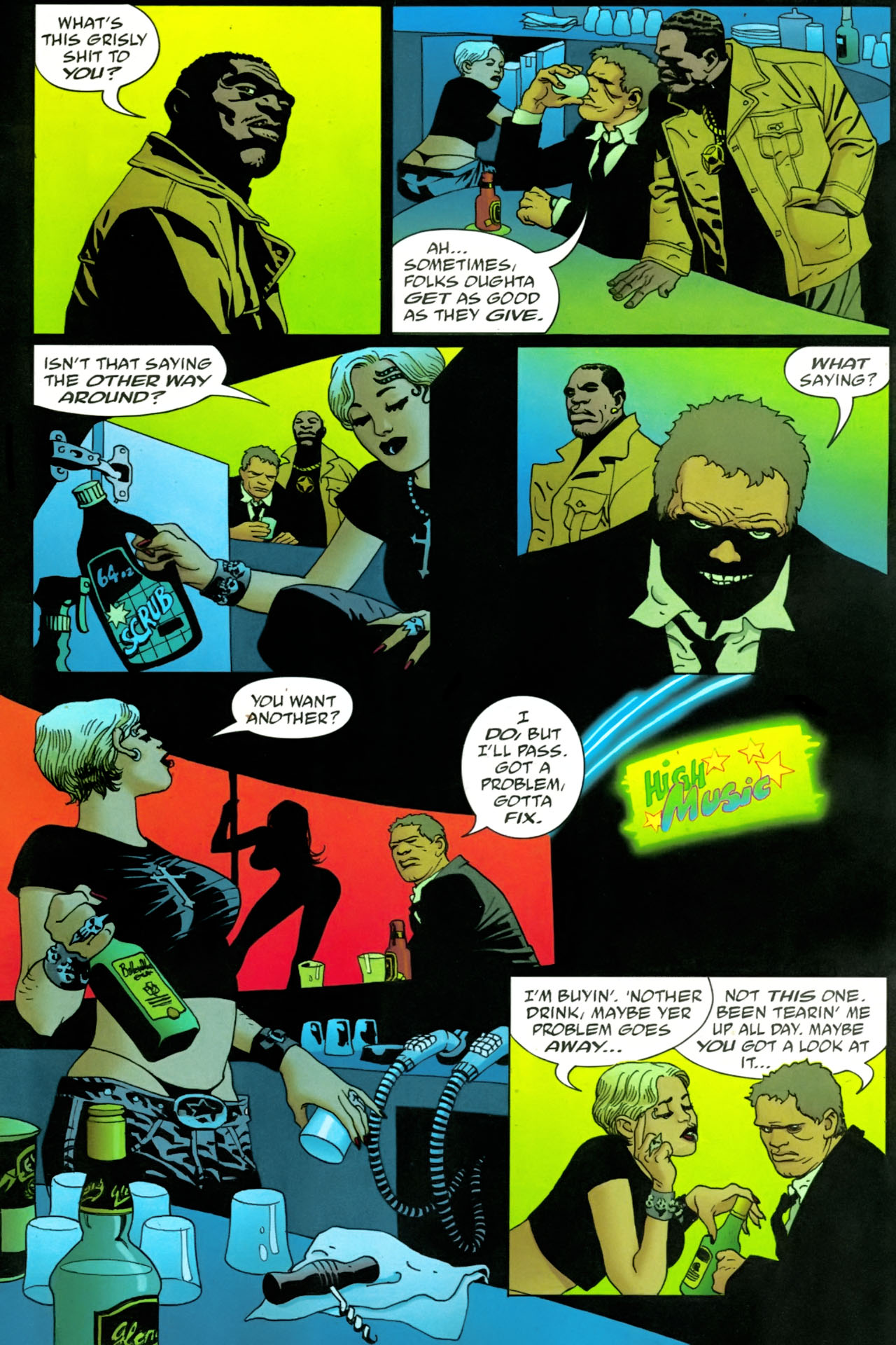Read online 100 Bullets comic -  Issue #86 - 15