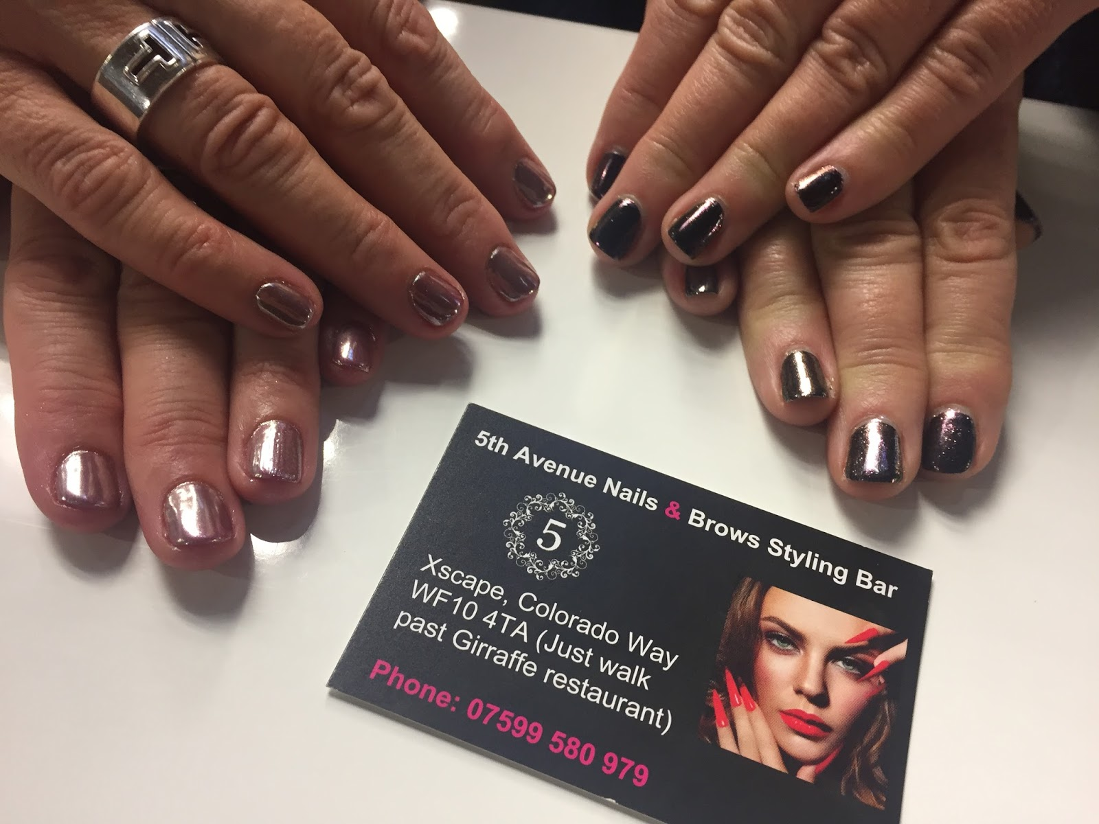 Xscape and 5th Avenue Nails & Brows   Eccentric England - nominated ...