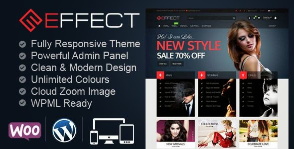 Effect - Multipurpose WooCommerce Store Theme