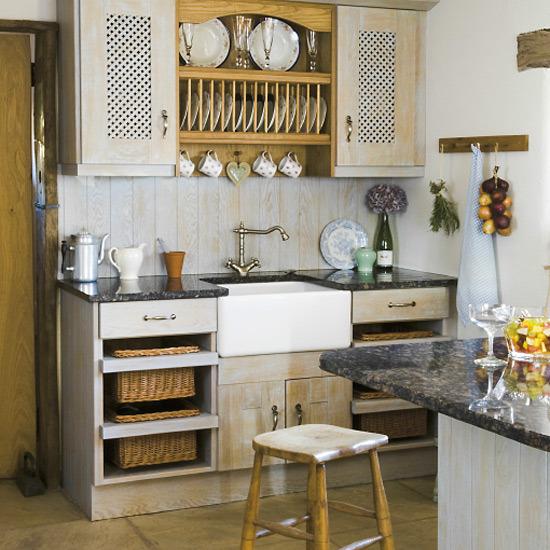 Farmhouse Kitchen Ideas: New Home Interior Design: Traditional Kitchen Decorating Ideas