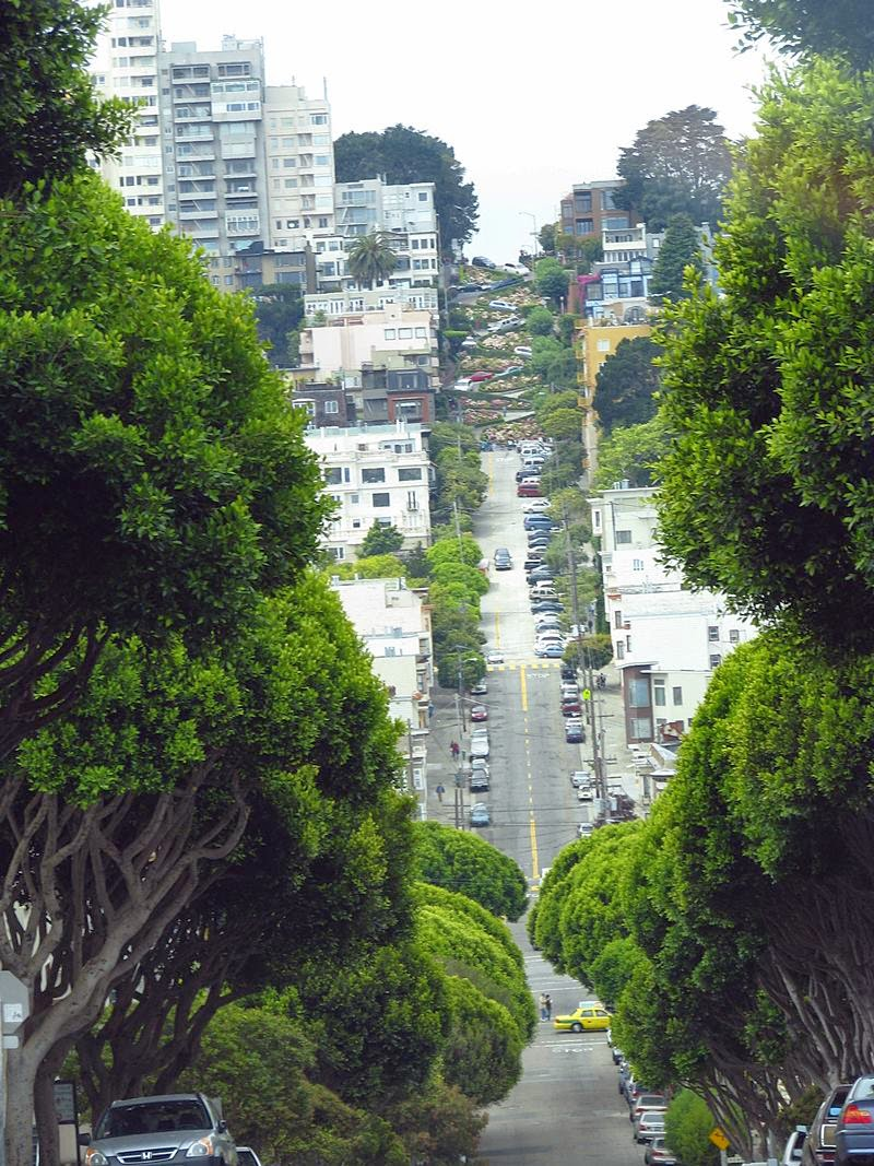 Lombard Street, San Francisco | The Most Curviest, Crookedest, Winding, Steepest street in the World