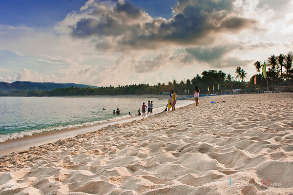 Powdery white sand of Pagudpud, Ilocos Norte