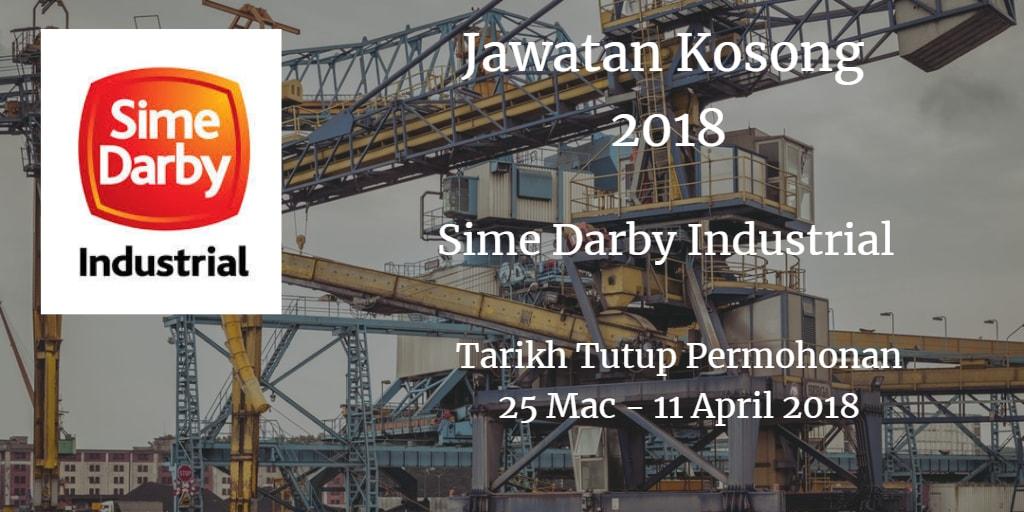 Jawatan Kosong Sime Darby Industrial 25 Mac - 11 April 2018