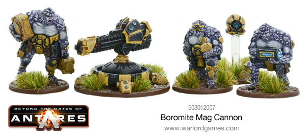 Warlord Games - Boromite Mag Cannon