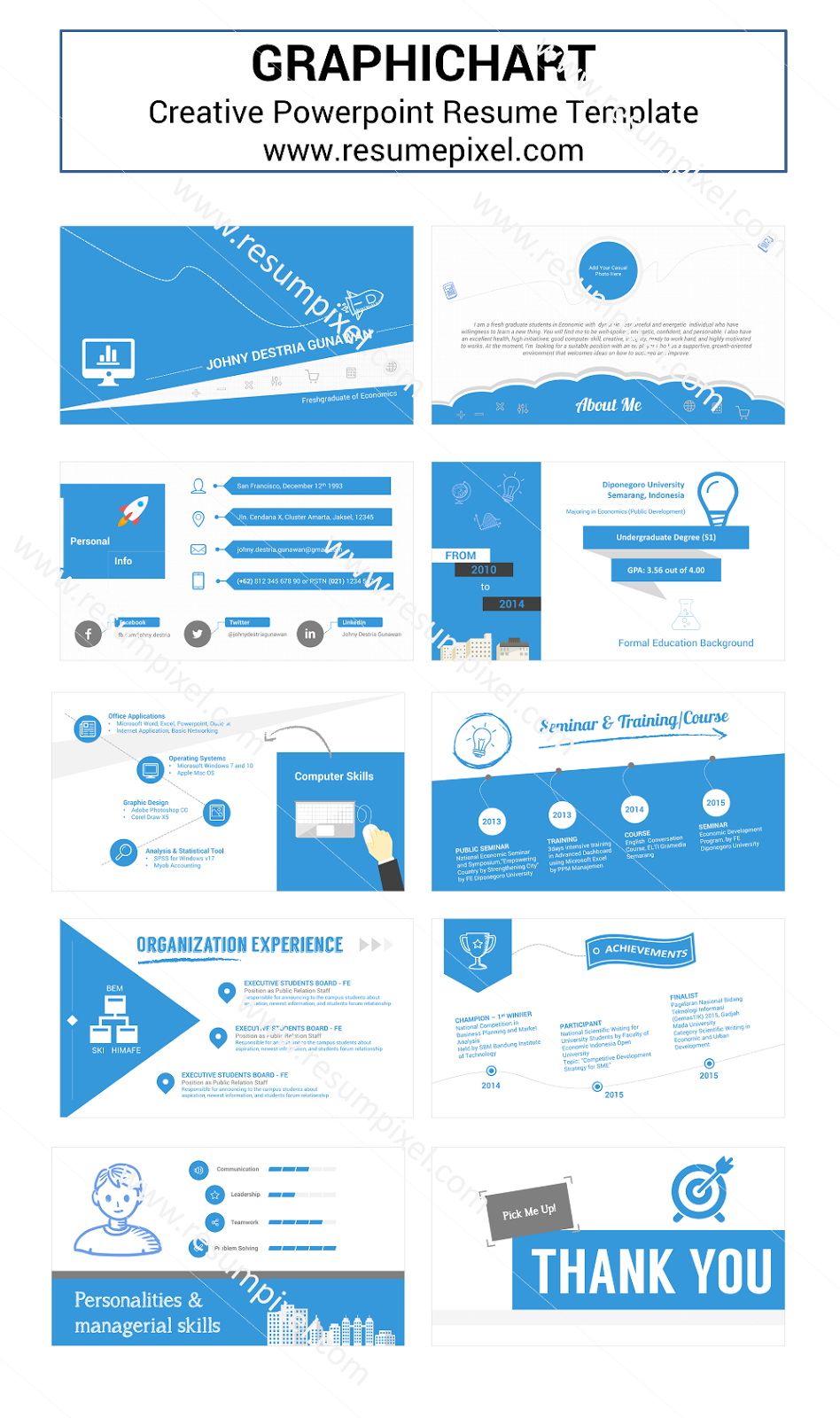 Resume in powerpoint samples resume powerpoint personal cv powerpoint template toneelgroepblik Gallery