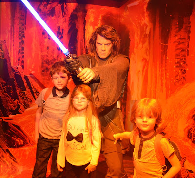 Madame Tussauds London including Star Wars,  A Review - Anakin Skywalker