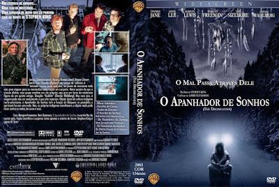 Filme O Apanhador de Sonhos (Dreamcatcher) DVD Capa
