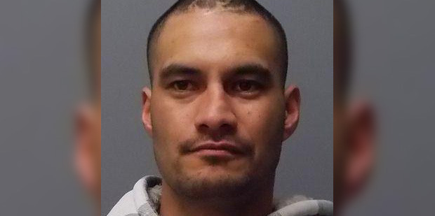 Waitemata police are searching for a dangerous man who attacked a policeman