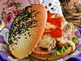 Pan de Hamburguesa con Mantequilla Clarificada