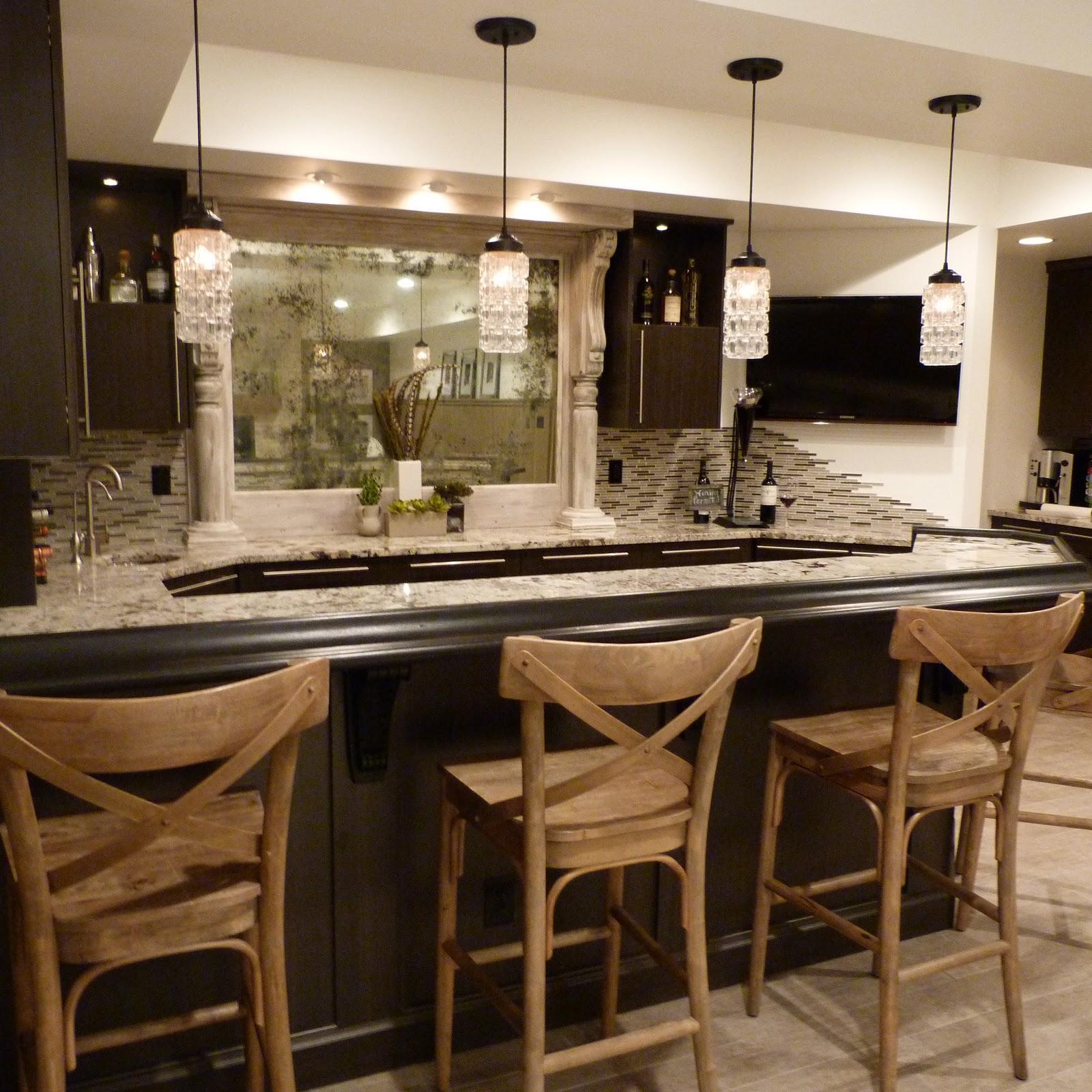 17 Rustic Home Bar Designs Ideas: House Envy: Our Rustic Modern Bar Reveal