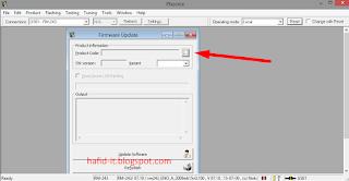manual pilih file firmware