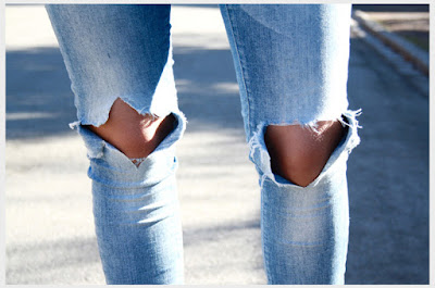 Jeans With Holes In The Knees